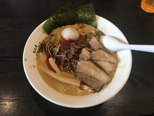 「特濃坦々麺」@ばーばら 美合店の写真