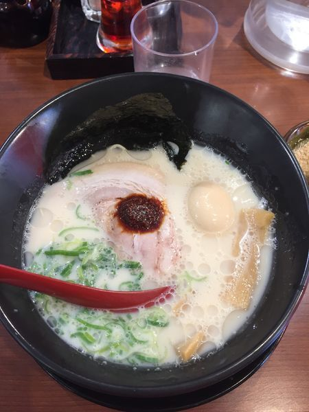 「味玉とんこつらぁ麺 ¥800」@だるまのめ 本厚木店の写真