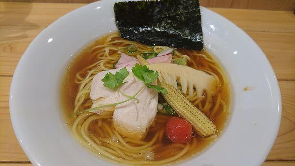 「煮干中華SOBA」@銀座 篝 アトレ浦和店の写真