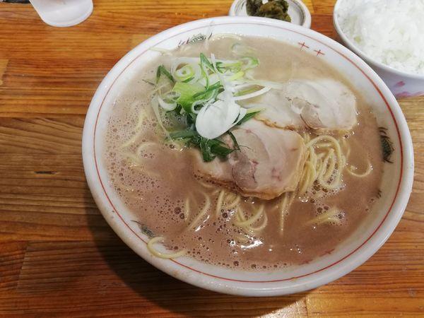 「らーめん」@博多ラーメン 恵比須の写真