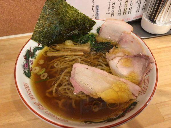 「手打ち中華」@白河ラーメン 麺や鶏正の写真
