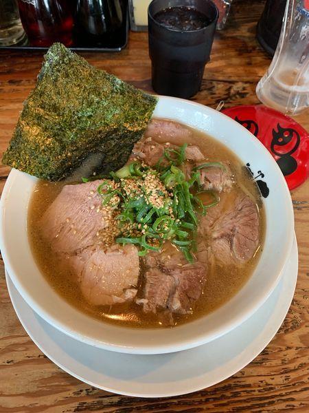「チャーシュー麺」@Y's Dining Barの写真