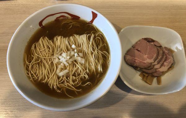 「赤城鳥の煮干しラーメン」@麺&cafe Coi.Coi.の写真