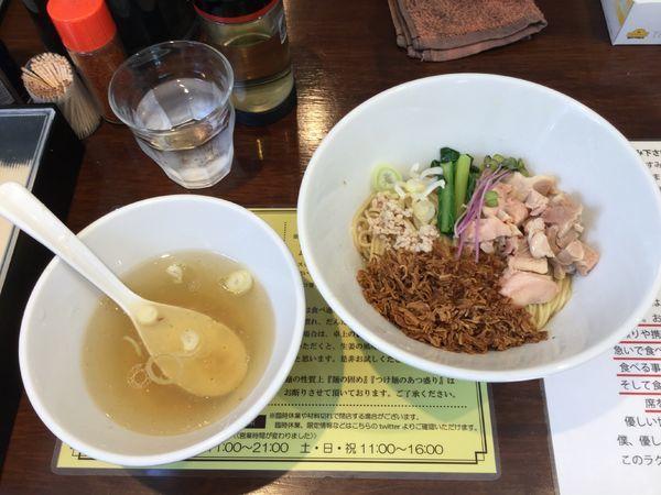 「【限定】油そば(¥850)」@塩生姜らー麺専門店MANNISHの写真