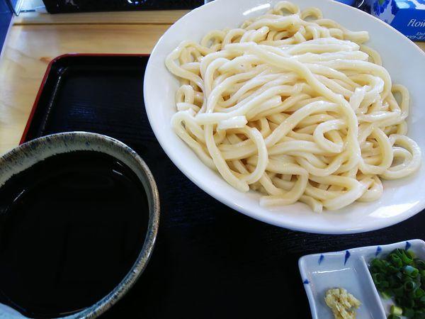 「ざるうどん大」@自家製麺 そのさきの写真