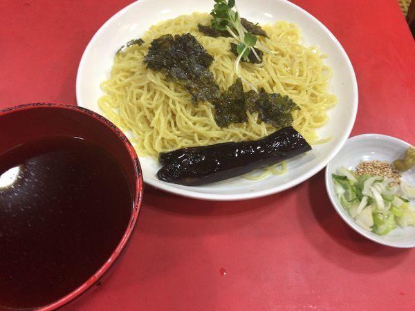「冷やしつけ麺・和風醤油680円」@柳華の写真