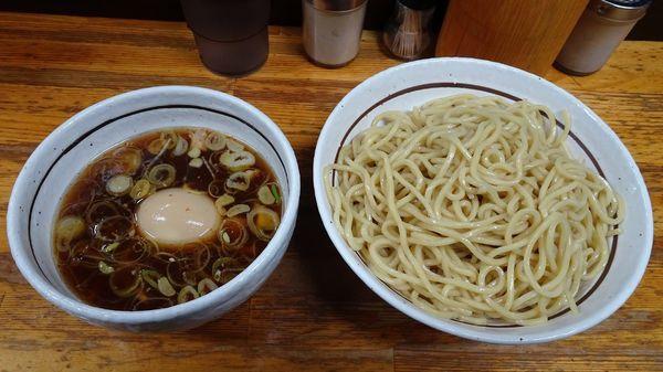 「味玉つけめん(830円)+大盛(50円)」@中華そば・つけめん 甲斐の写真