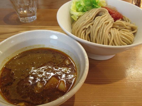 「海老カレーつけ麺(880円)」@らーめん いつ樹 本店の写真