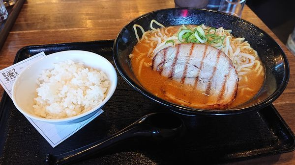 「百年味噌ラーメン810円(込)」@百年味噌ラーメン マルキン本舗 みかも店の写真