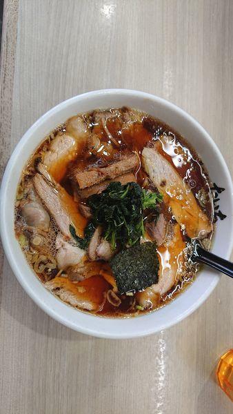 「醤油チャーシュー麺 800円」@ラーメン たいちの写真
