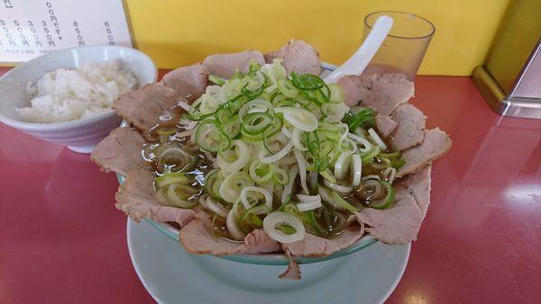 「チャーシュー麺 醤油」@ラーメン天外 各務原店の写真