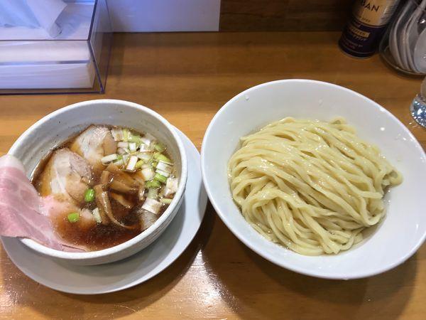 「昆布水つけ麺(特盛り)」@自家製中華そば 麺の虜の写真
