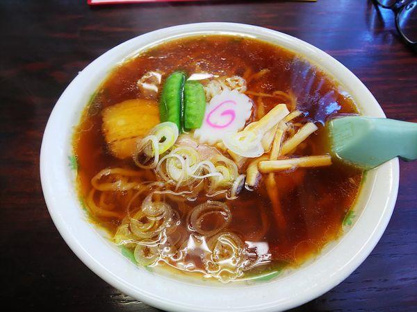 「中華そば」@年貢町 茶釜食堂の写真
