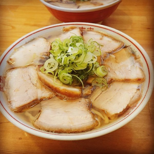 「チャーシュー麺 大盛」@ラーメンうめ八の写真