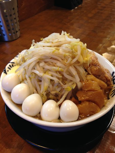 「洋二郎 野菜増し チーズ ウズラ」@特級中華蕎麦 洋介の写真