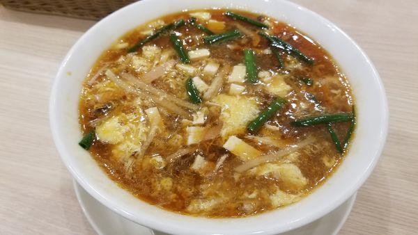 「サンラータン麺」@中華麺飯・飲茶 四川乃華 ichi イオンモール松本店の写真