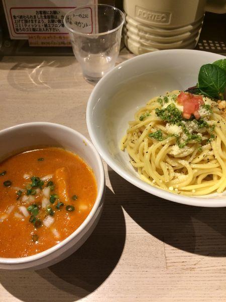 「つけ麺ロッソ(並)850円」@ajito ismの写真