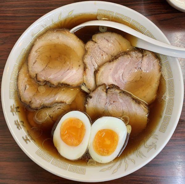 「チャーシュー麺」@五芳斉の写真