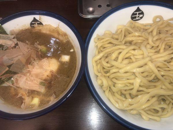 「味玉つけめん・中(900円)」@つけめん 玉の写真