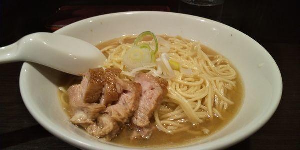 「肉そば 中」@自家製麺 伊藤 銀座店の写真