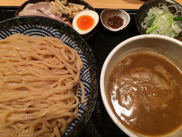 「つけ麺(並)950円」@つけ麺 道の写真