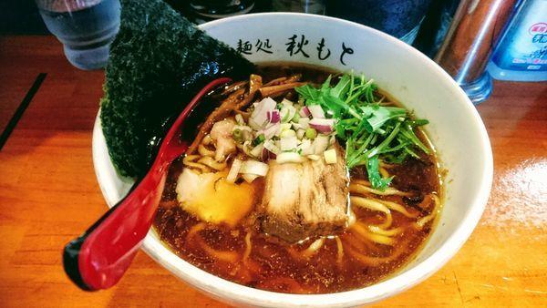 「醤油」@麺処 秋もとの写真
