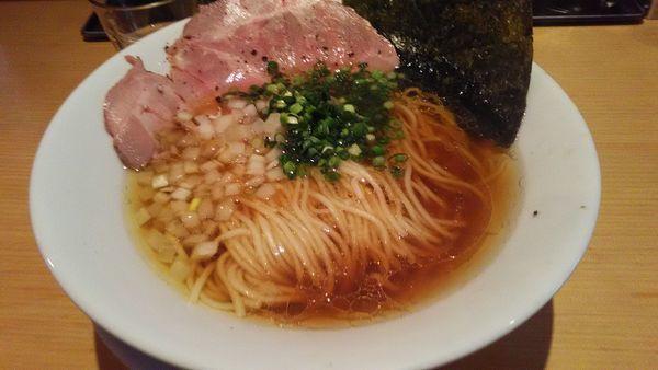 「旨味出汁淡麗醤油」@麺屋 まほろ芭の写真