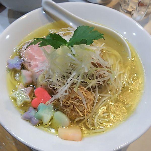 「比内地鶏の塩ラーメン」@麺屋 扇 SENの写真