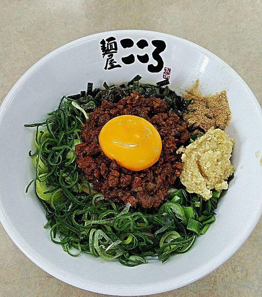「台湾まぜそば 810円」@麺屋こころ 刈谷店の写真