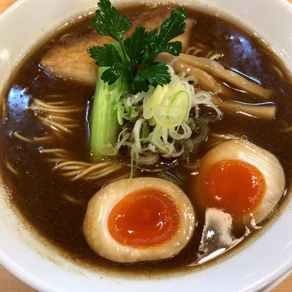 「煮干し醤油そば(ハード) 880円」@らーめんDINING れんげの写真