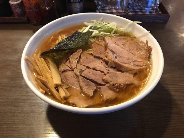 「チャーシュー麺」@荻窪らーめん 栄龍軒の写真