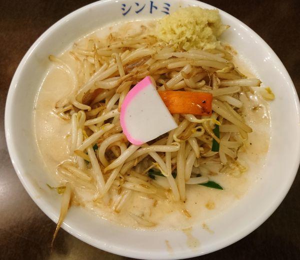 「濃厚タンメン しょうが」@極濃湯麺シントミ 本庄インター店の写真