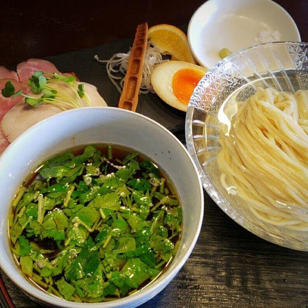 「【限定】昆布水つけ麺 1000円」@麺処 学の写真