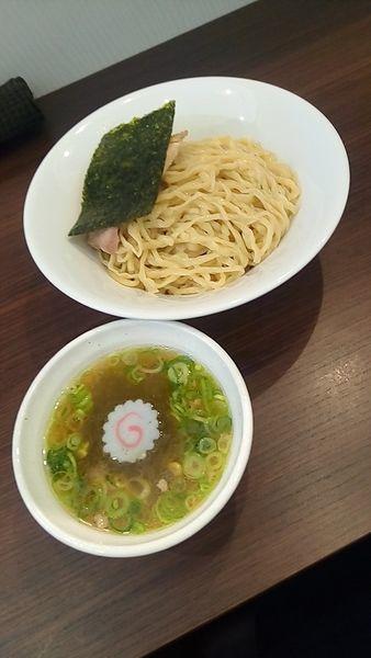 「つけ麺(塩・中盛)850円」@麺や 河野の写真