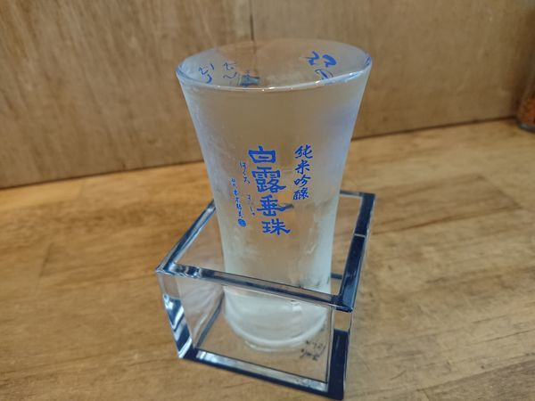 「素ラーメン(塩)700円+かき菜のお浸し 他いろいろ」@都電テーブル 雑司が谷店の写真