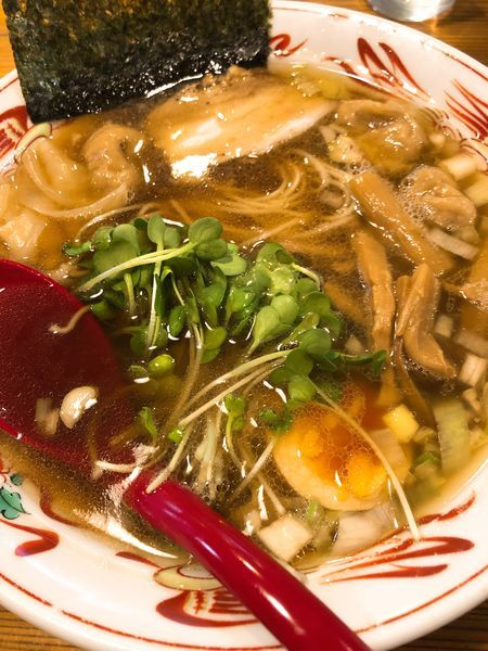 「わんたんめん(醤油) ¥830」@武藤製麺所の写真