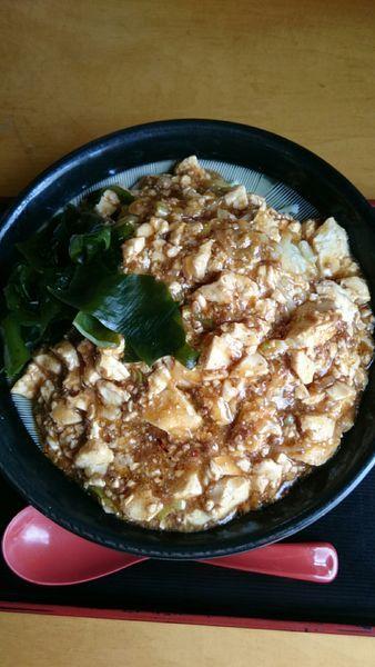 「マーボー冷麺    770円」@金来の写真