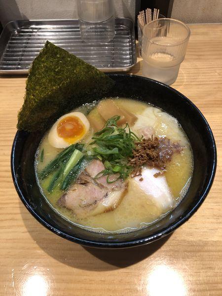 「特製鶏白湯」@拉麺 弁tenの写真