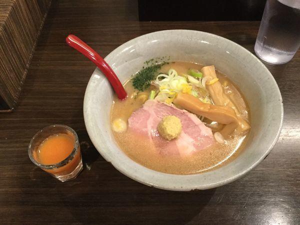 「味噌ラーメン(¥750)」@味噌専門麺屋大河の写真