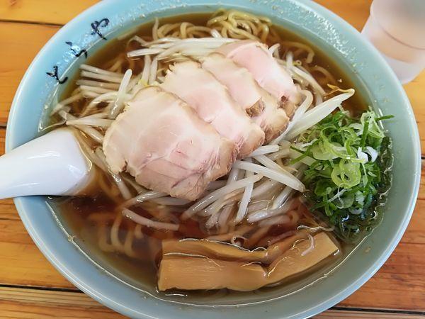 「4/21 チャーシュー麺(醤油)大盛り950円」@味のとらやの写真