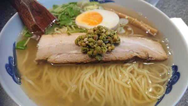 「和風実山椒柳麺」@麺屋ひょっとこ 銀座店の写真