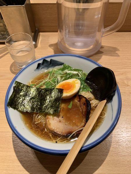 「柚子醤油ラーメン:1080円」@AFURI 恵比寿の写真