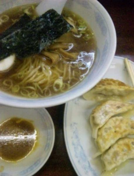 「ラーメン 餃子セット」@ながやの写真