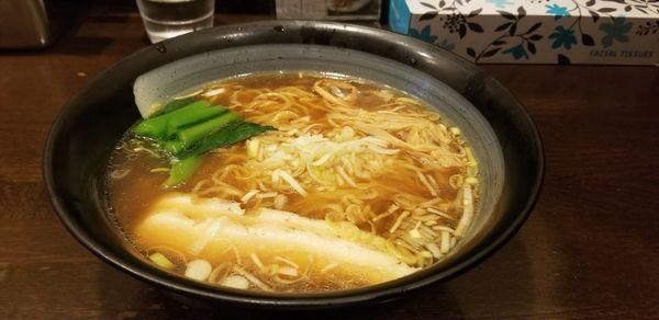 「鶏清湯中華そば、鶏つけ麺(塩)」@鶏々 TORIDORIの写真
