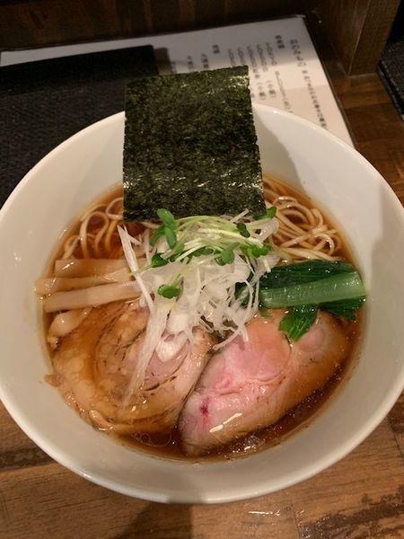 「支那そば 850円 大盛100円」@日本橋 製麺庵 なな蓮の写真