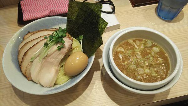 「特製つけ麺大盛り チャーシュートッピング」@麺屋二代目 弘の写真