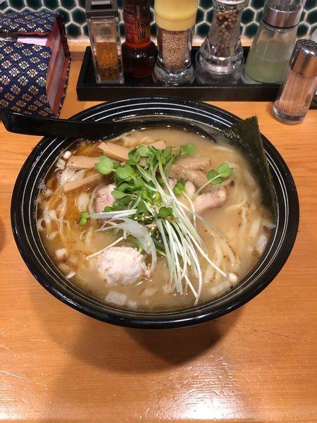 「鮮魚かつお出汁麺」@鮮魚鶏出汁麺 沢むらの写真
