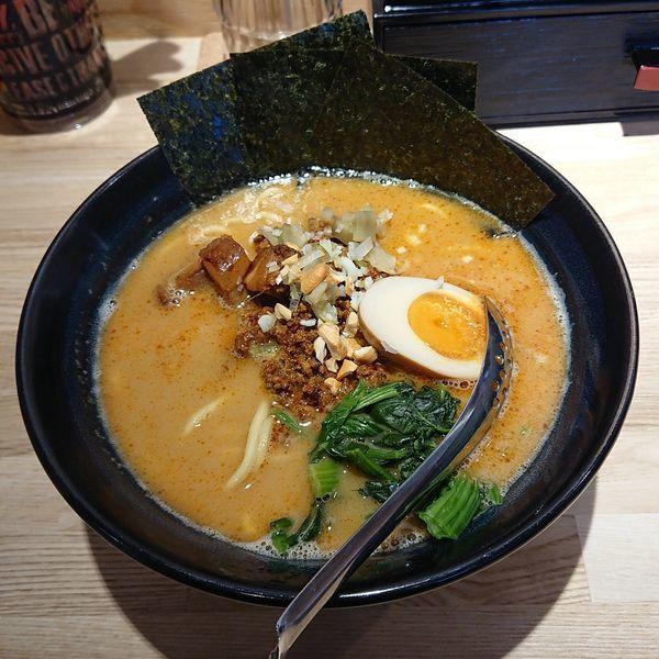「丹野式担々麺  @850円」@らーめん 麺GO家 白石店の写真