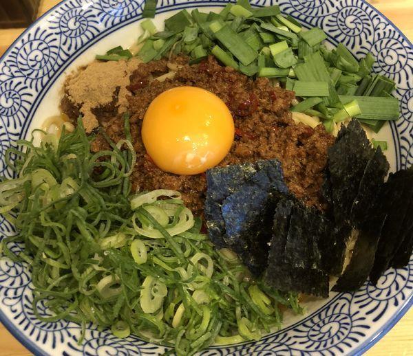 「台湾まぜそば 大盛」@自家製麺 竜葵の写真