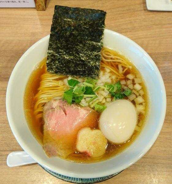 「煮干しソバ+煮玉子」@中華ソバ 篤々 TOKU-TOKUの写真